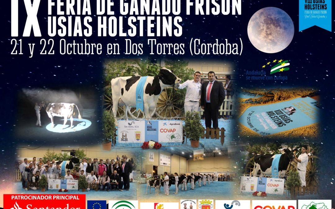 "IX FERIA DE GANADO FRISON 2016 ""USÍAS HOLSTEINS"""