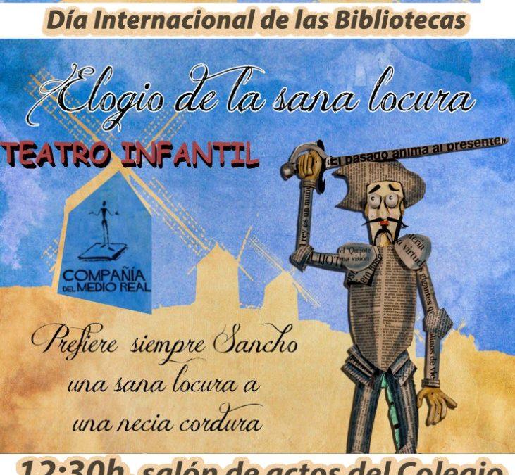 CONMEMORACIÓN DEL DÍA INTERNACIONAL DE LAS BIBLIOTECAS