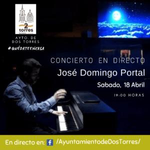 CONCIERTO JOSÉ DOMINGO PORTAL