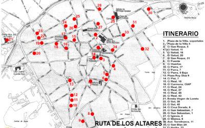 RUTA DE LOS ALTARES DEL CORAZÓN DE JESÚS