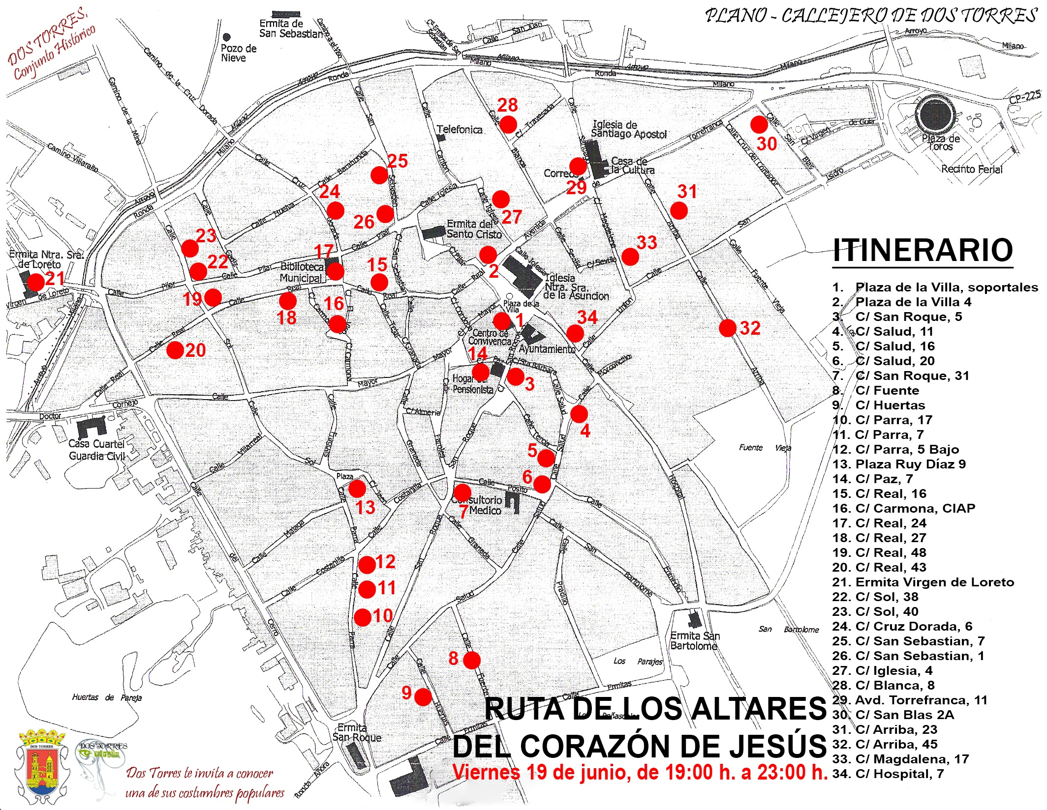 RUTA CORAZONES DE JESUS 2020