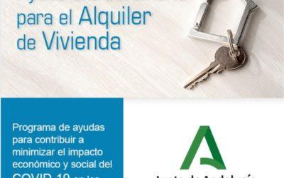 AYUDAS AL ALQUILER. JUNTA DE ANDALUCÍA