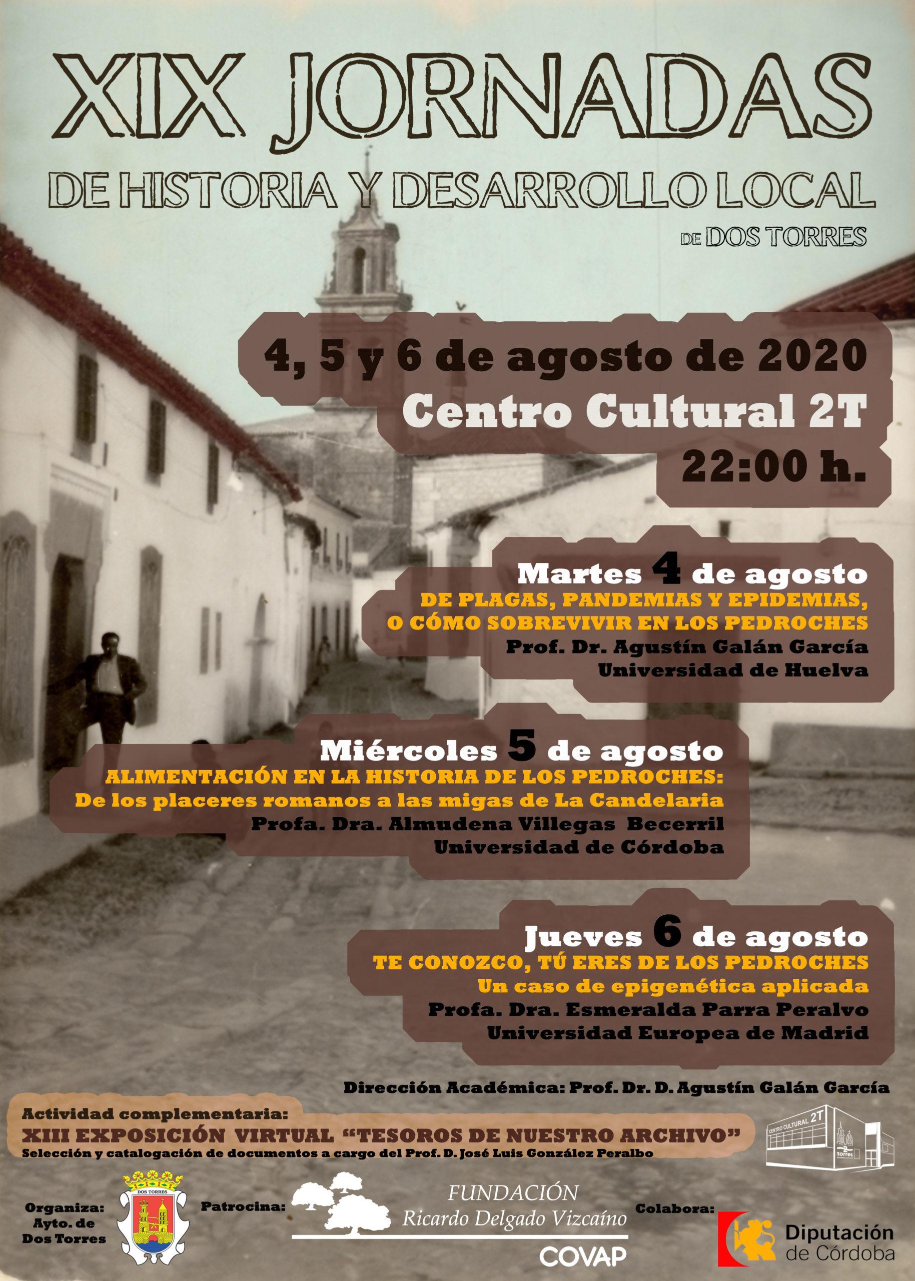 XIX JORNADAS DE HISTORIA 2020 MOD
