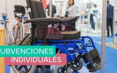 SUBVENCIONES INDIVIDUALES. PERSONAS MAYORES Y/O CON DISCAPACIDAD