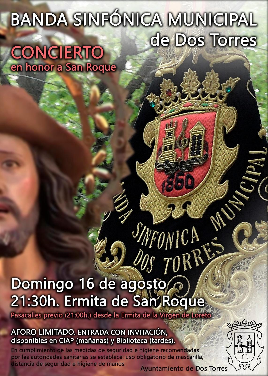CONCIERTO BANDA SINFONICA SAN ROQUE