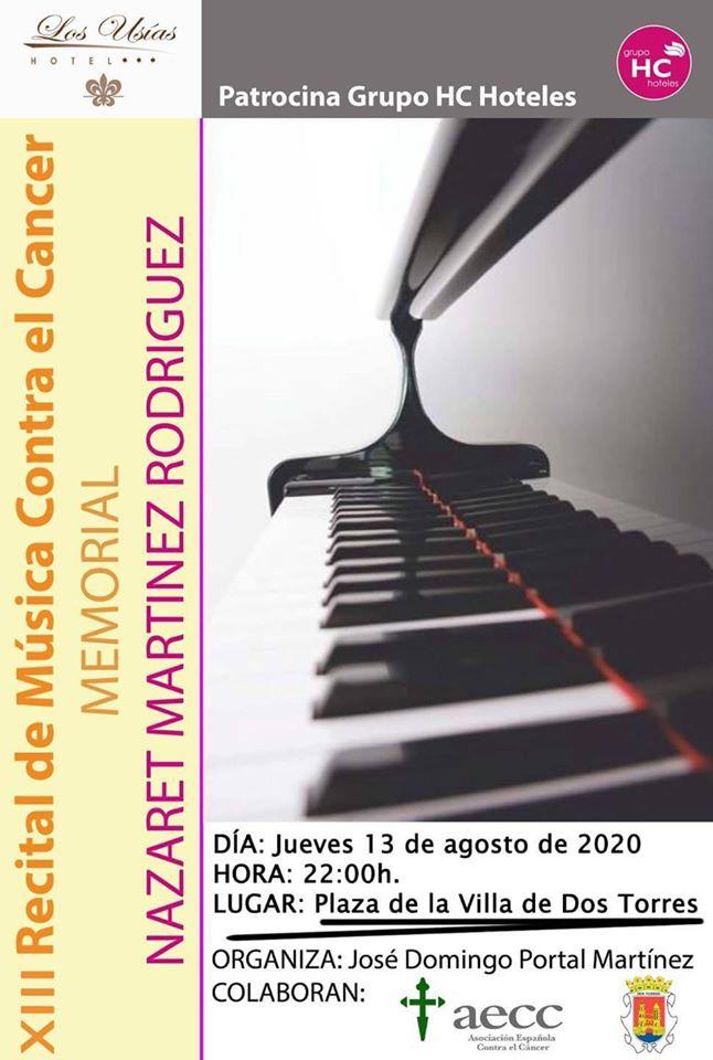 XIII RECITAL DE MUSICA CONTRA EL CANCER