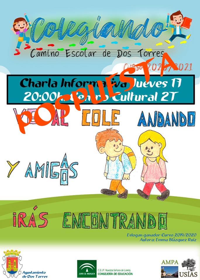 ANDANDO AL COLE charla
