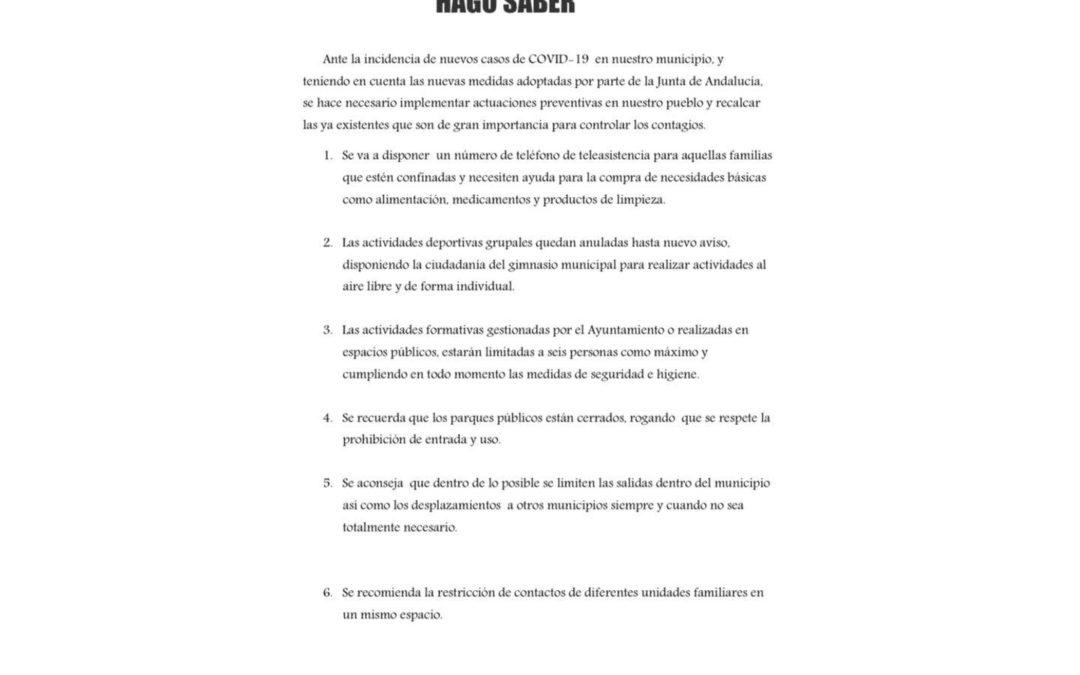ACTUACIONES Y RECOMENDACIONES COVID ENERO 2021