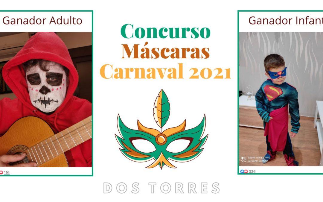 GANADORES CONCURSO CANAVAL 2021