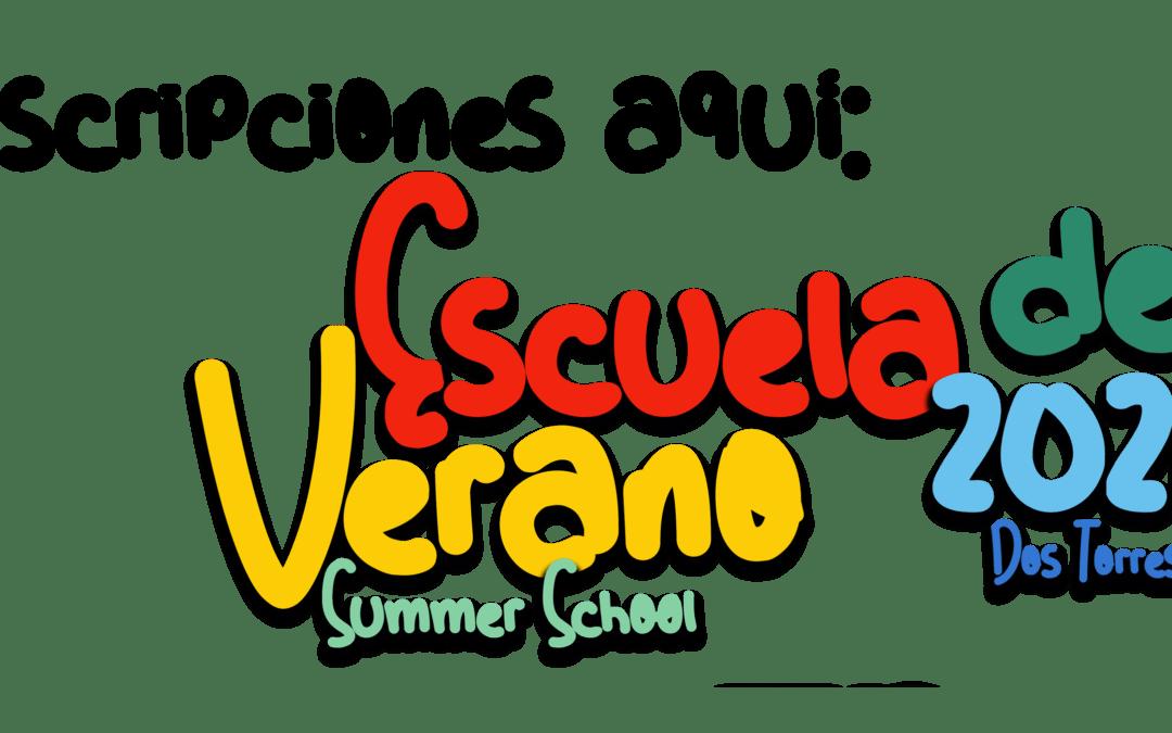 INSCRIPCIONES ESCUELA DE VERANO 2021